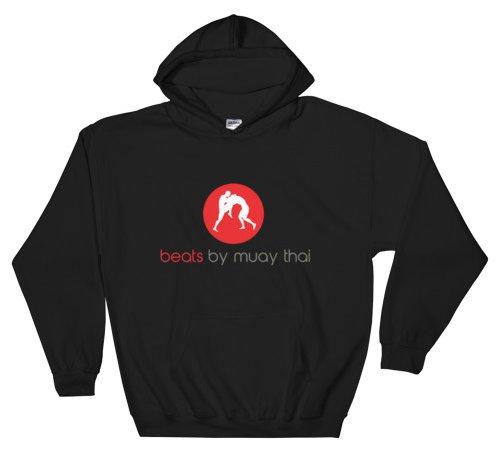 beats by muay thai hoodie black