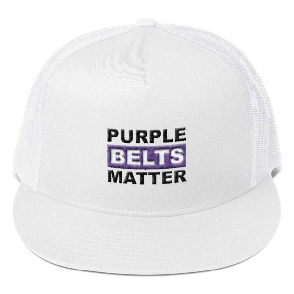 edc6428faa5 Purple Belts Matter Trucker Cap » Martial Expression