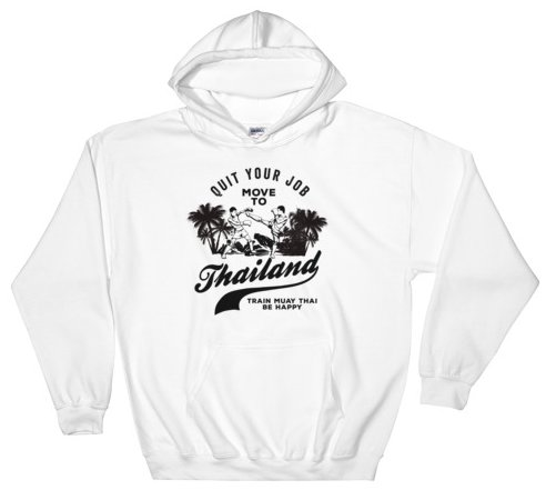 move to thailand hoodie white