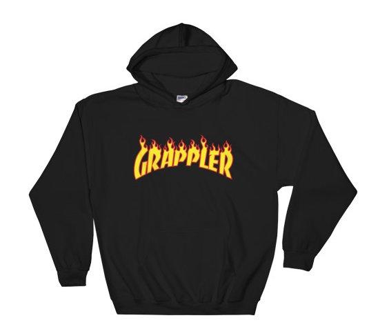 grappler hoodie black