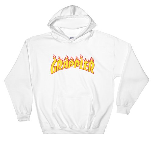 grappler hoodie white